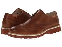 Pikolinos Glasgow 05M 6222 Cuero Men's Lace Up Wing Tip Shoes Tan