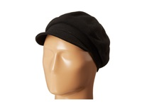 Hat Attack Newsboy Cap Black Caps