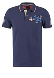 Gaastra Kasper Polo Shirt Navy Dark Blue