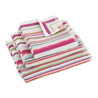 Christy Kalifi Stripe Towel Multi Red