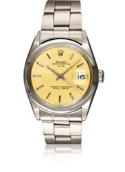 Vintage Watch Women's Oyster Perpetual Date Yellow