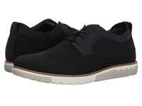 Hush Puppies Expert Wt Oxford Navy Knit Nubuck Lace Up Casual Shoes Gray