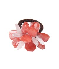 Jane Tran Mixed Cherry Quartz Ponytail Cherry Quartz Hair Accessories Red