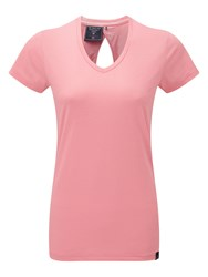 Tog 24 Daisy Womens Dri Release Wool T Shirt Pink