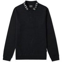 Patta Long Sleeve Polo Black