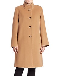 Cinzia Rocca Wool Blend Single Breasted Coat