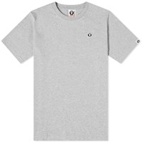 Aape By A Bathing Ape One Point Tee Grey