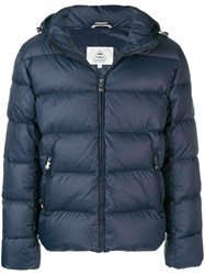 Pyrenex Short Down Jacket Blue