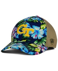 Top Of The World Georgia Tech Yellow Jackets Shore Stretch Fit Cap