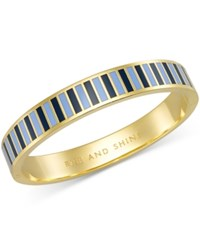 Kate Spade New York Gold Tone 'Rise And Shine' Colorful Bangle Bracelet