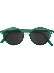 See Concept Round Shaped Sunglasses Green