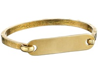 Giles And Brother I.D. Tag With Hinge Cuff Bracelet