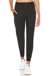 Beyond Yoga Featherweight Foldover Long Sweatpant Black