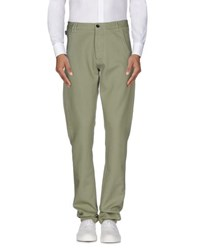 Armani Collezioni Trousers Casual Trousers Men Military Green
