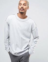 Cheap Monday Victory Etcetc Sweater Grey Melange