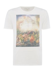 Label Lab Floral Haze Graphic Tee Ecru