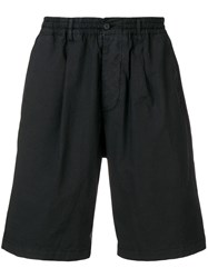 Paura Relaxed Fit Shorts Black