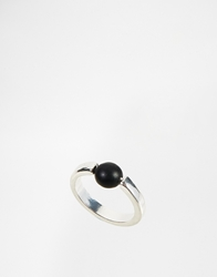 Asos Ball Ring Silver
