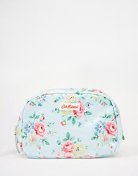Cath Kidston Classic Box Make Up Case With Nylon Zip Latimer Rose Latimer Rose Clear