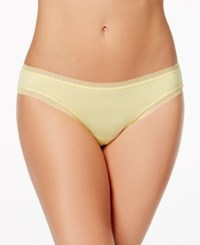 Charter Club Modern Essentials Lace Trim Bikini Only At Macy's Pineapple Cream