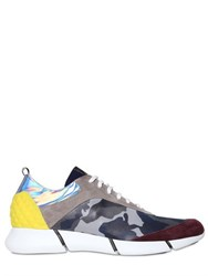 Elena Iachi 20Mm Camo Printed Sneakers