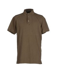 Alpha Studio Topwear Polo Shirts Men Khaki