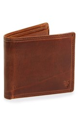 Frye Men's 'Logan' Leather Billfold Wallet Brown Online Only Cognac