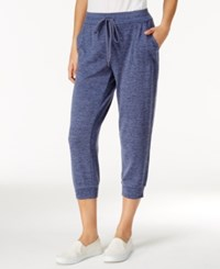 Styleandco. Style Co. Melange Jogger Pants Only At Macy's Industrial Blue