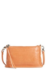 Hobo 'Small Cadence' Leather Crossbody Bag Orange Persimmon