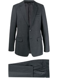 Prada Single Breasted Suit Grey