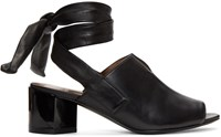 Pierre Hardy Black Rally Sandals