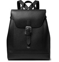 Mulberry Full Grain Leather Backpack Black