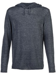 Vince Hooded Sweatshirt Grey
