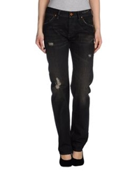 Grifoni Super Vintage Denim Pants Black