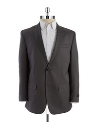 Sean John Two Button Blazer Grey Black
