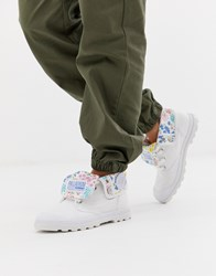 Palladium Us Baggy Low F Boots White
