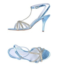 Luca Valentini High Heeled Sandals Azure