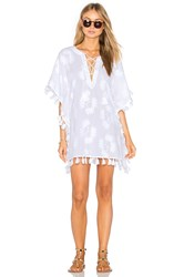 Seafolly Embroidered Caftan White