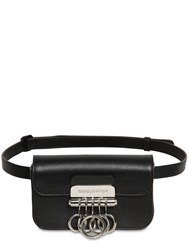 Dsquared Leather Belt Bag W Key Holder Black