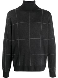 Canali Checked Jumper 60