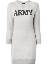 Nlst 'Army' Long Sweatshirt Nude And Neutrals