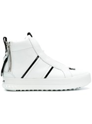 Kennel Schmenger And High Top Sneakers White