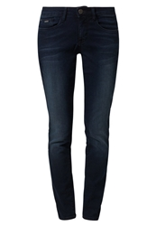 Tom Tailor Carrie Slim Fit Jeans Dark Stone Wash Blue