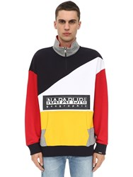 Napapijri Terry Bek Hz Cotton Sweatshirt Array 0X5895598