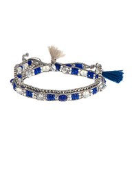 Lonna And Lilly 15 Inche Wrap Style Bracelet Blue
