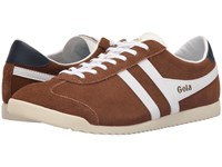 Gola Bullet Suede Tobacco White Men's Shoes Khaki