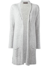 Incentive Cashmere Long Cardigan Grey