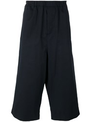 Societe Anonyme Strong Hackney Cropped Trousers Blue