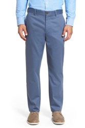 Nordstrom Wrinkle Free Straight Leg Chino Blue