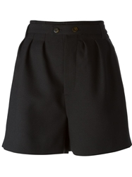 Marc By Marc Jacobs High Waisted Shorts Black